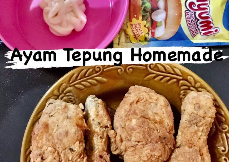 Ayam Tepung Homemade