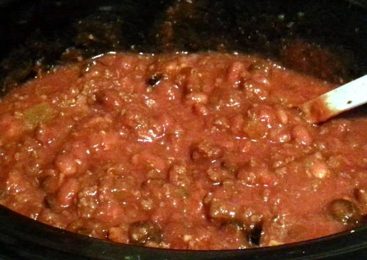 Recipe of Homemade My Mom's Game-Day Chili