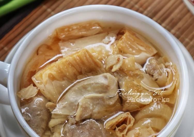 Resep Sup Ayam Bakso-Kembang Tahu Yang Populer Bikin Nagih