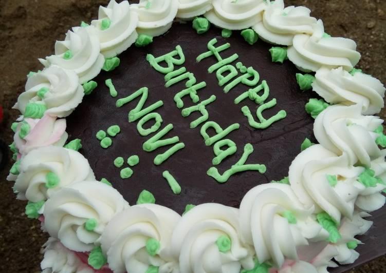 Kue ulang tahun irit telur