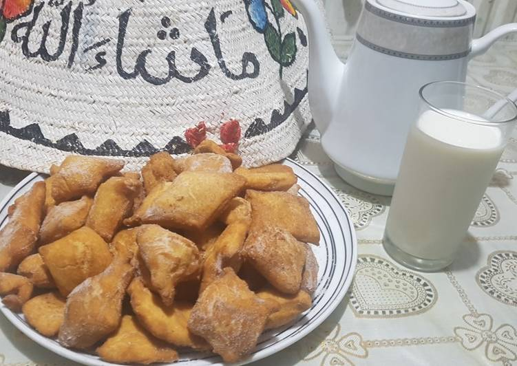Baking powder mandazi