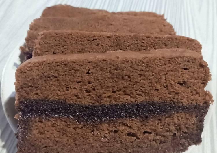 Cara memasak Brownis Coklat Kukus Lembutttt 😋  Cepat