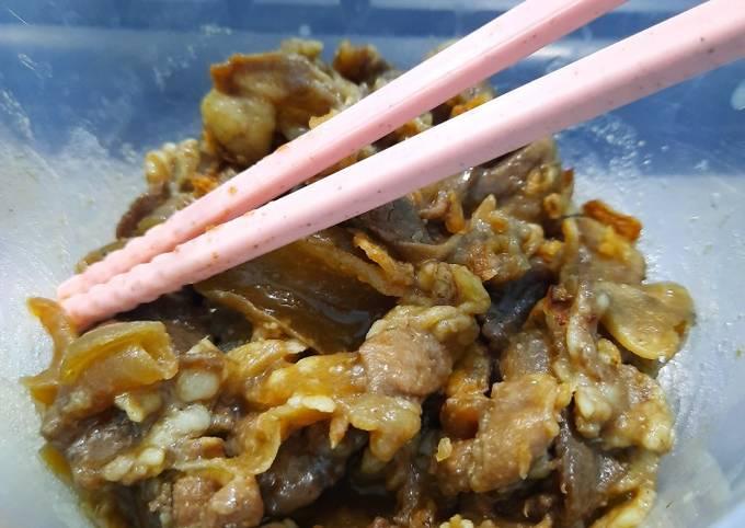 Beef Yakiniku Yoshinoya