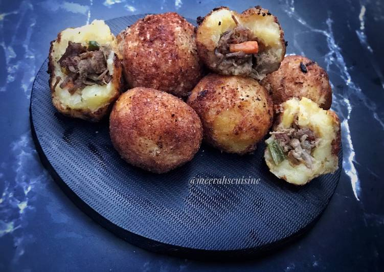 Recipe: Tasty Stuffed potato balls