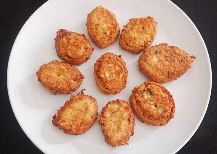 Perkedel Tahu komplit - cookandrecipe.com