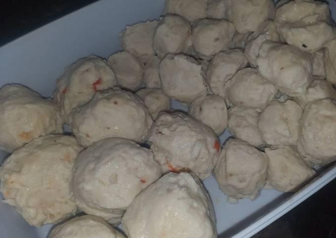 Baso Ayam Ranjau homemade