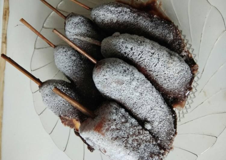 Resep Es Pisang Coklat Jajanan Jaman Sd Oleh Resep Umma Cookpad