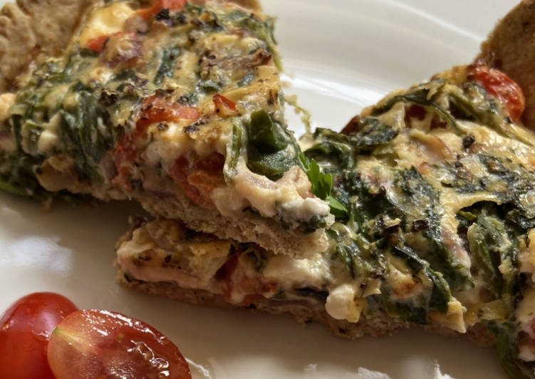 Easiest Way to Prepare Ultimate Spinach Tart
