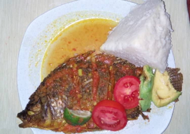 How to Prepare Ultimate Tilapia fish with ugali