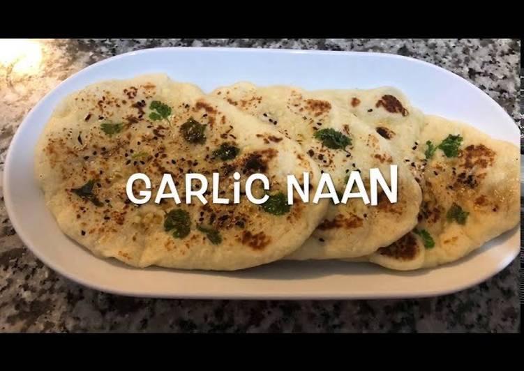 Recipe of Homemade Garlic Naan