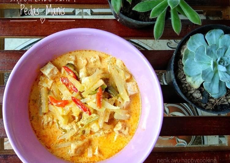 Cara Termudah Untuk Menyiapkan 05 Sayur Labu Siam Pedas Manis Yang Terenak