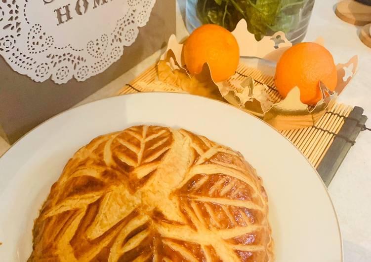 recette Galette des Rois frangipane le délicieux