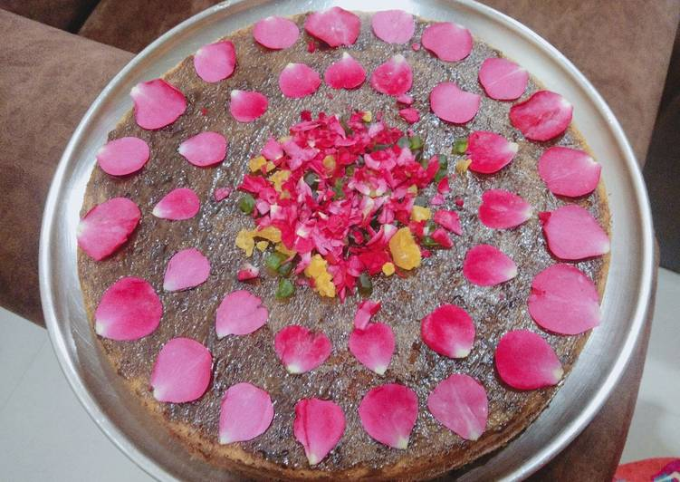 Rose Vanilla marble Cake