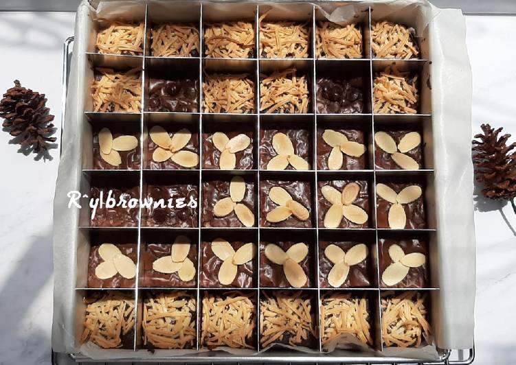Brownies Panggang / Potong