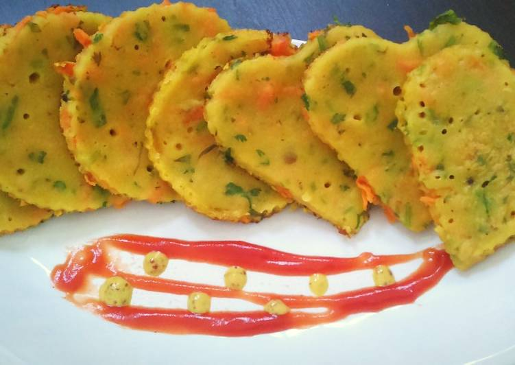 25 Minute Steps to Prepare Fall Dal pancakes with leftover dal