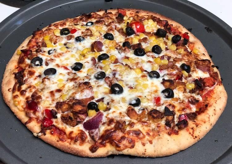 Panner Tikka Pizza