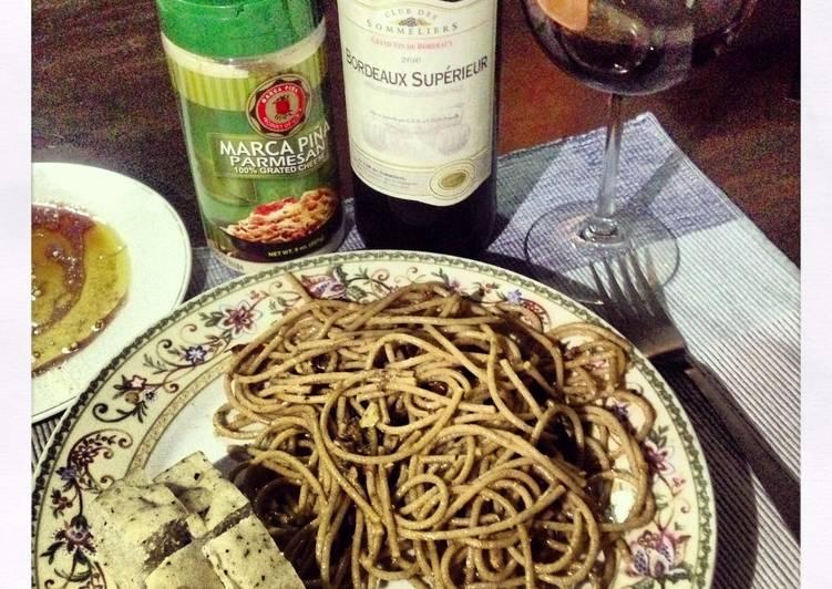 Steps to Prepare Super Quick Homemade Spicy Sardine Pasta