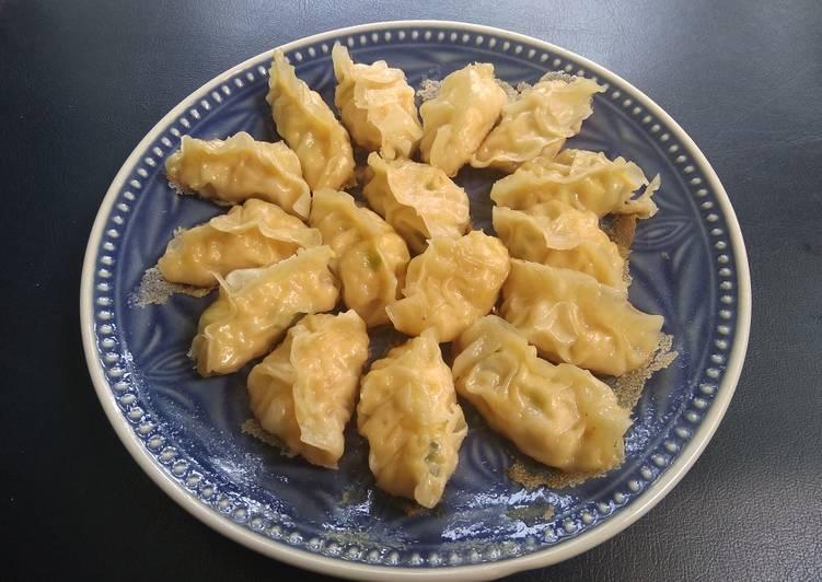 Resep Gyoza Jepang Mandu Korea Dumpling Cina Ala Pawon Langit Oleh Dapur Ibu Langit Cookpad