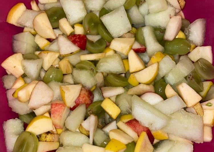 Comment Préparer Les Salade de fruits fraîcheur 🥗