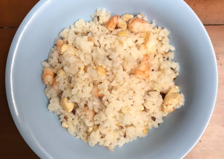 Makanan Anak Nasi Goreng Udang & Tahu
