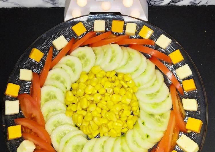 Salade concombre/tomate