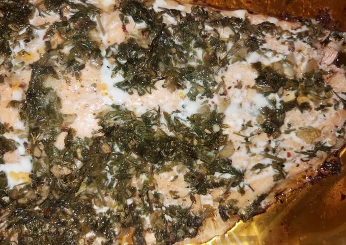 Salmon a la provenzal