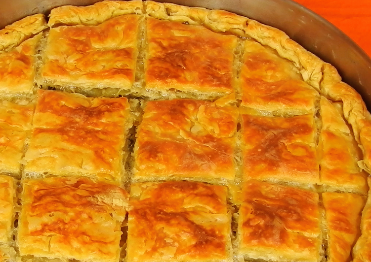 Simple Way to Make Ultimate Spinach, Wild Greens & Feta Greek Pie (a.k.a. Spanakopita)