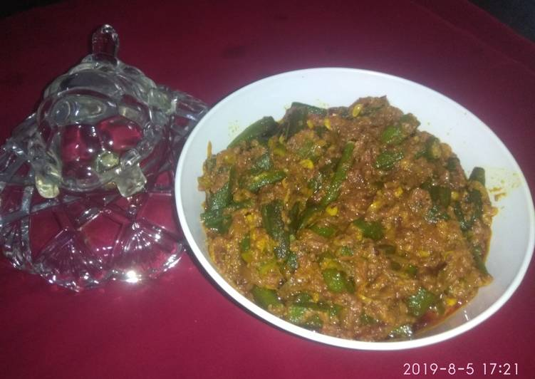 दही मसाला भिंडी (Dahi masala bhindi recipe in Hindi)