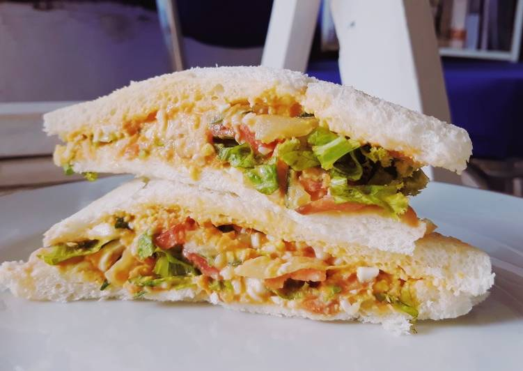 Resep Inkigayo Korea Sandwich (ala Subway) Top