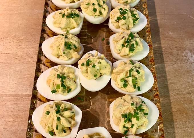 Der einfachste Weg Um Ultimative Gefüllte Eier zuzubereiten