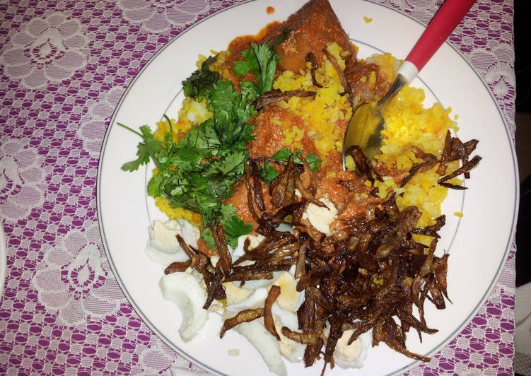 Recipe: Succulent Arabic Chicken Biriyani