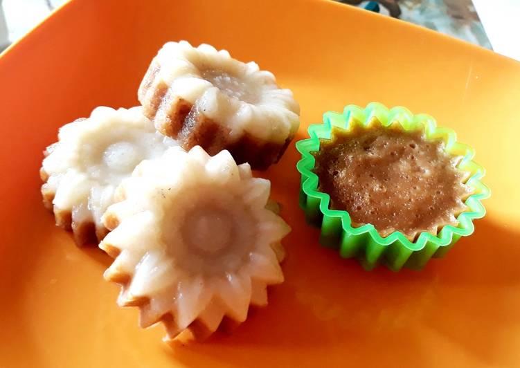 Kue Kukus Singkong Kacang Merah
