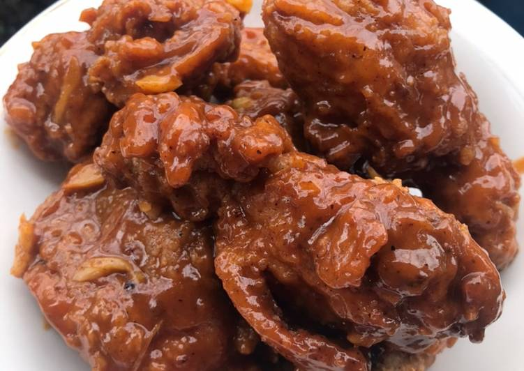 Bagaimana Menyiapkan Ayam Goreng Saos BBQ Enak dan Antiribet