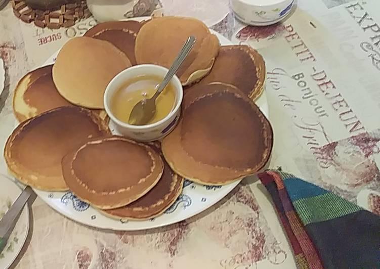 Comment faire Préparer Délicieuse Pancake