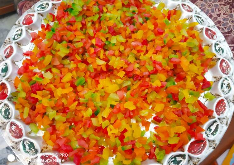 Homemade Tutti Frutti Recipe By Kuldeep Kaur Cookpad