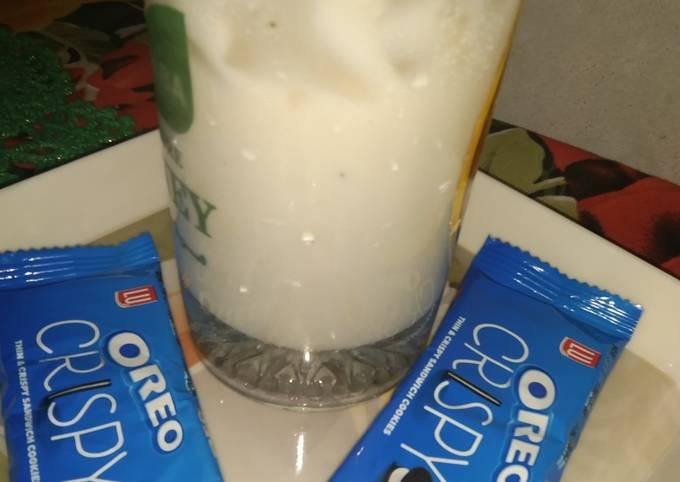 Jhat pat banana milkshake