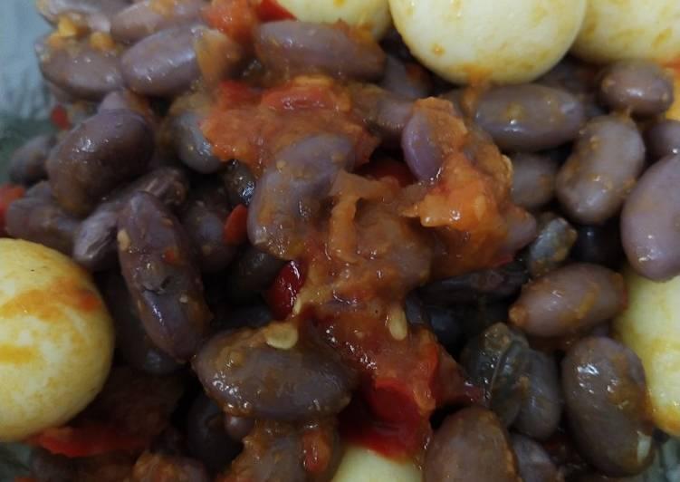 Bagaimana Membuat Balado kacang merah dan telur puyuh Anti Gagal
