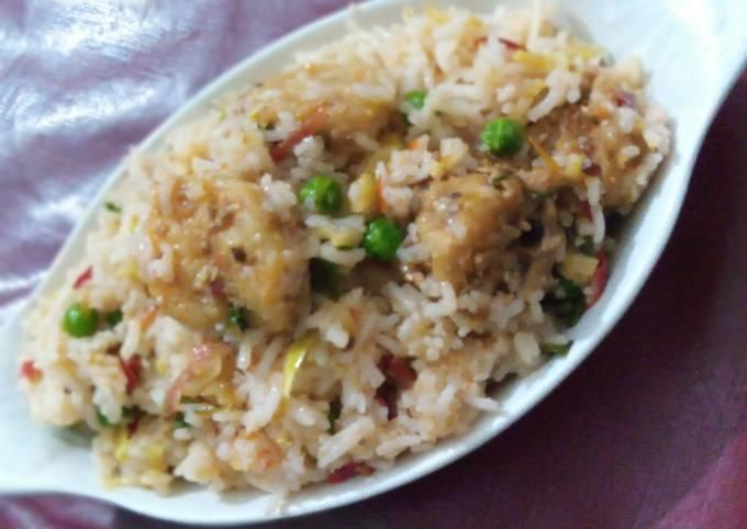 Chinese Prawns Fried Rice
