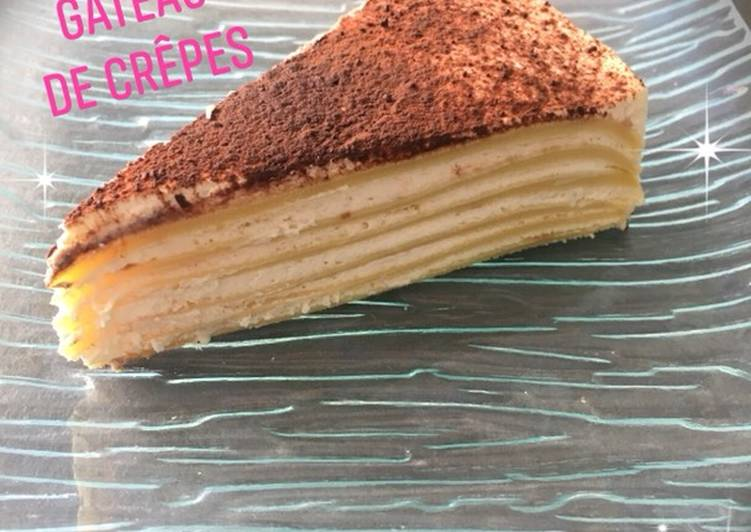 Recette De Gâteau de crêpes