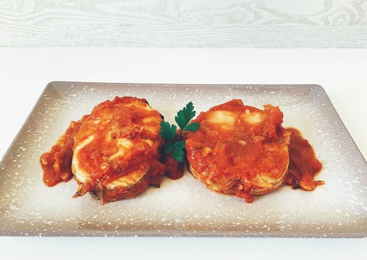 Merluza con tomate | Minimalista total
