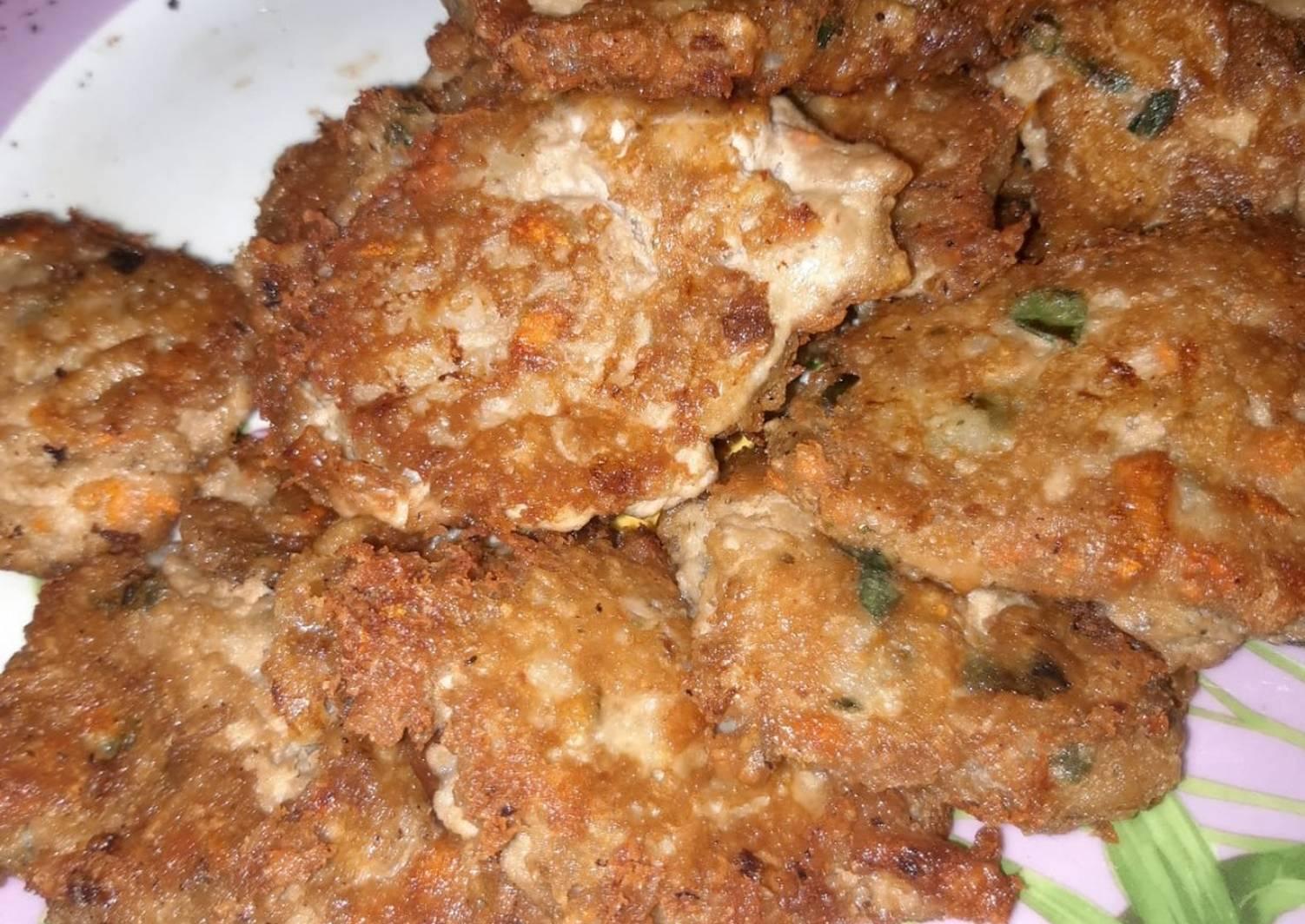 Котлеты из рыбной молоки рецепт с фото
