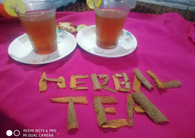 HERBAL TEA DETOX (it's good for health and weight loss)