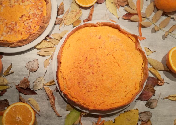 Tarte à la Carotte-Orange
