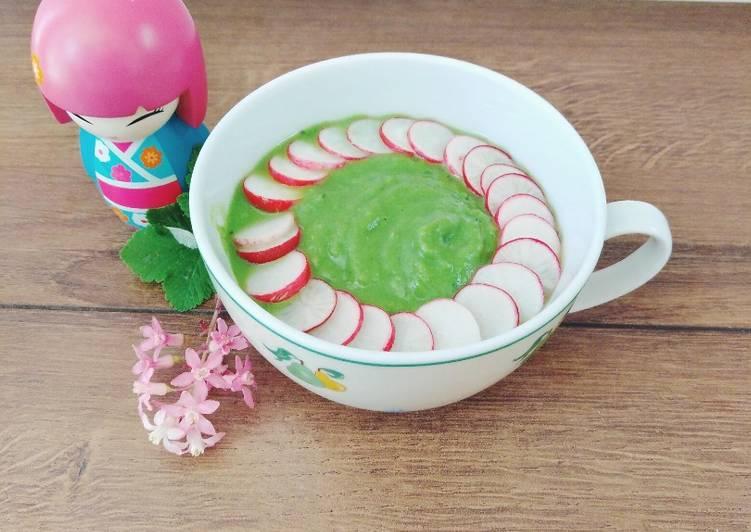 Façon la plus simple Faire Délicieux Soupe de petits pois a la menthe
