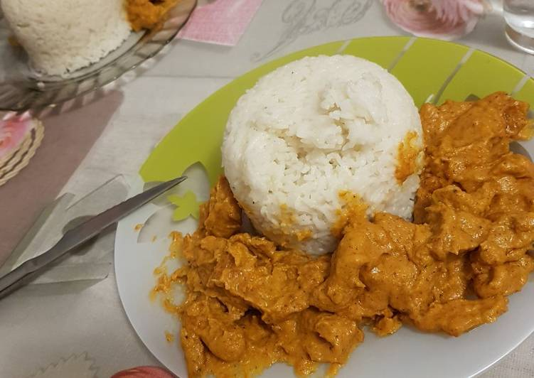 Butter chicken 😍