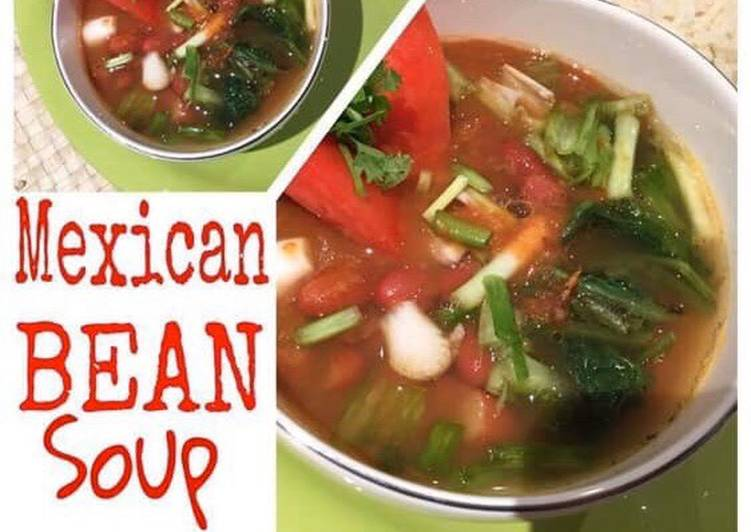 Steps to Make Favorite Mexican Bean Soup