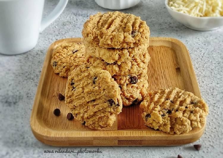 Oat Choco Cheese Cookies