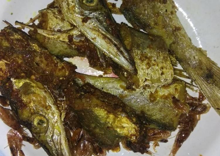 Ikan barakuda goreng