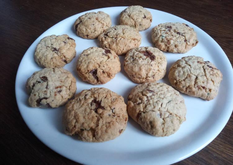 Cookies au chocolat et aux haribos MIAMI PIK