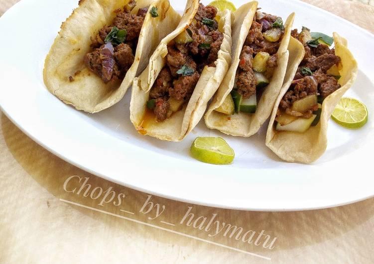 Steps to Make Quick Tacos